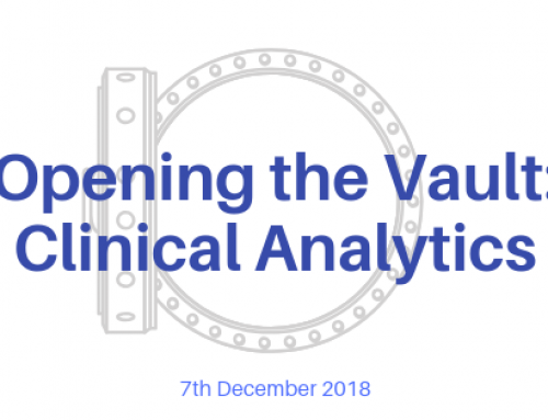 Opening the Vault: Clinical Analytics