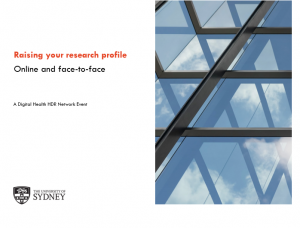 Raise your research profile online