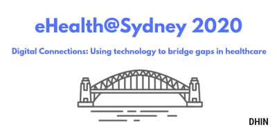 eHealth@Sydney heading with bridge image