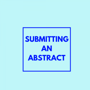 Submitting an abstract