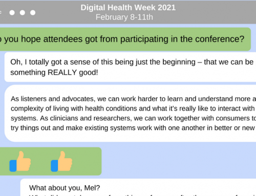 Reflections from Digital Health Week 2021